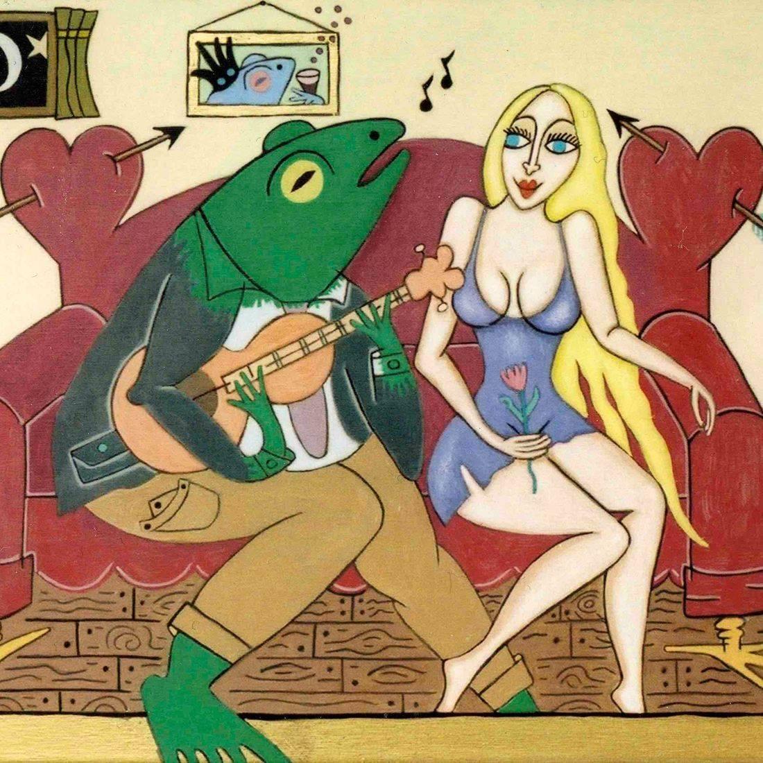 Serenade, Cantar Las Mananitas, Frog, Blonde, Romance, Love, Lust, The True Adventures of the Frog and Blonde