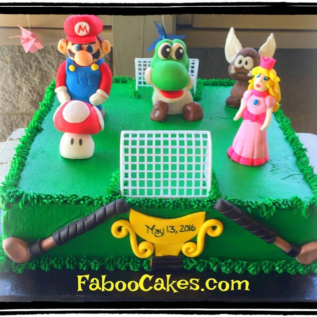 marios brothers cake super mario cake princess peach mario luigi