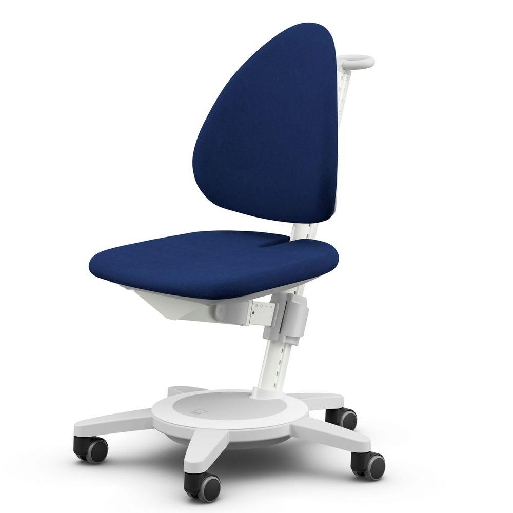 Sedia Moll Maximo,rivestimento colore Blu