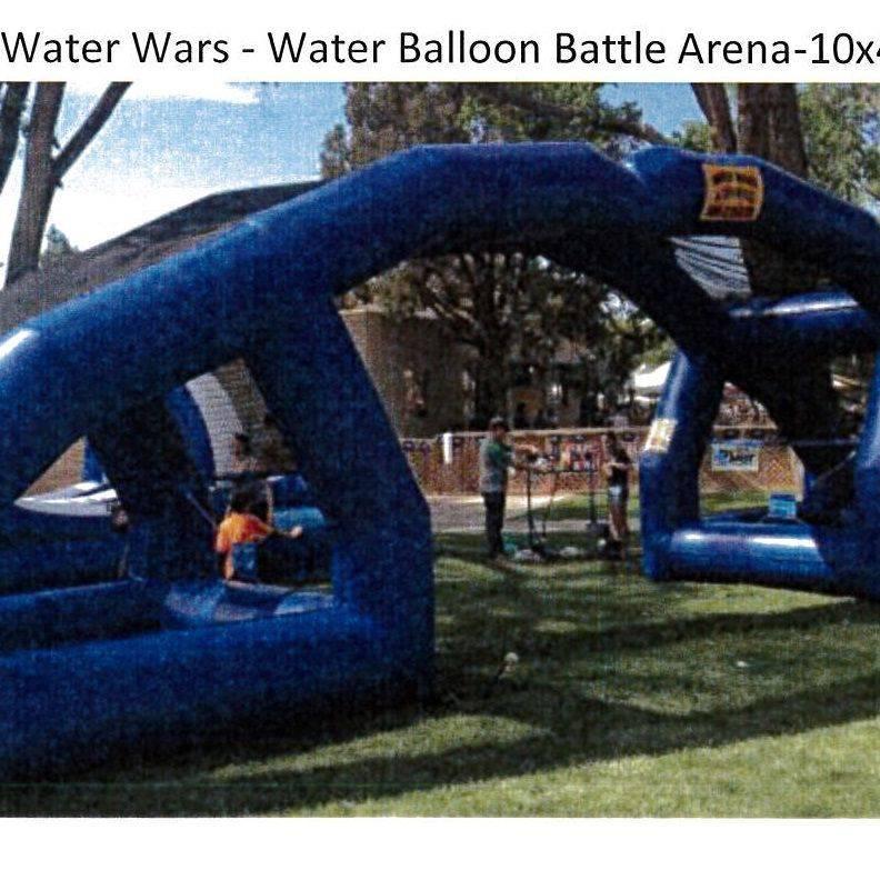 Water Wars Water Balloon Battle Arena 10'x45'