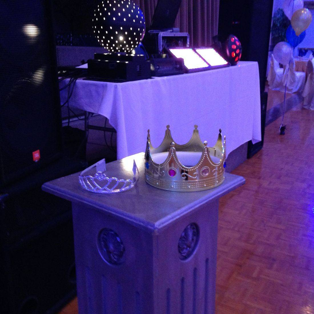 Mr. Productions DJ Service at a St. Jean de Brebeuf's Prom at Michaelangelo's