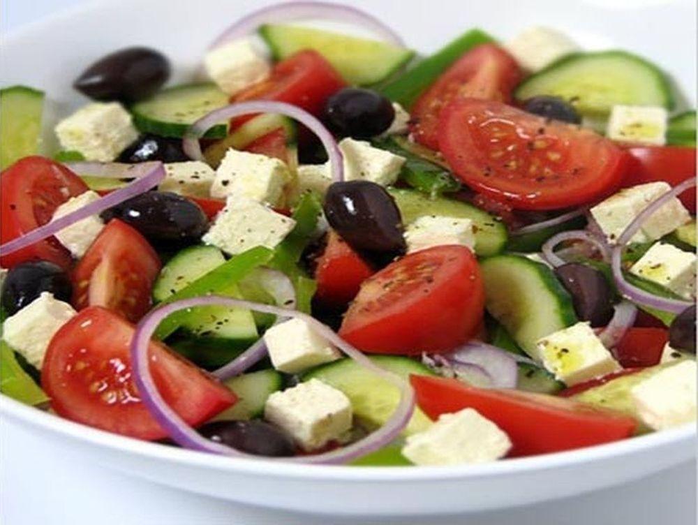 Griechische Salat