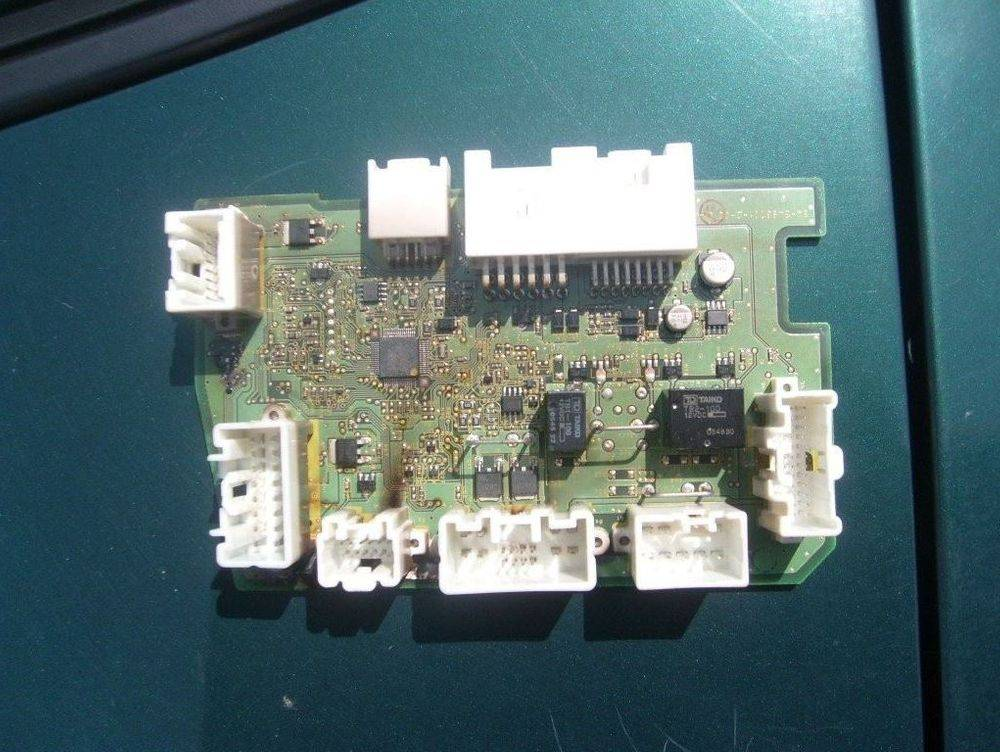 Another view of the body control module from the Mazda by Mr Diagnostic