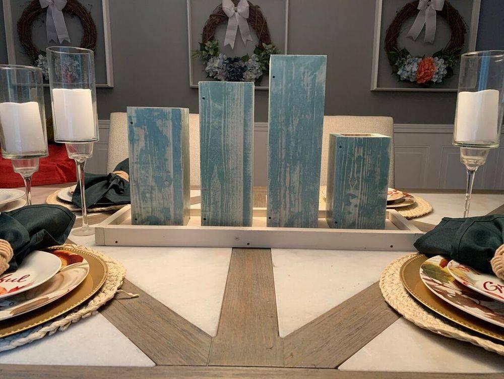 Handmade Centerpieces