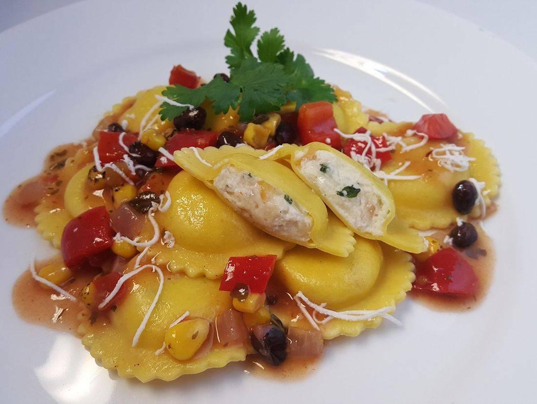ravioli pasta mozzarella italian lunch catering seattle