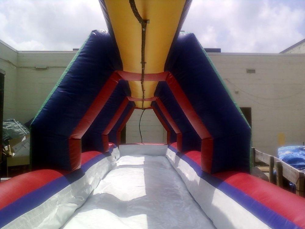 slip'n'slide long ride