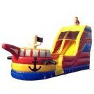 Bounce house  pirate theme with slide