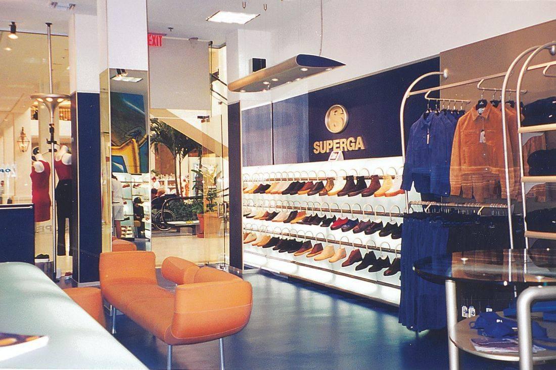 Superga modern retail store at Aventora Mall