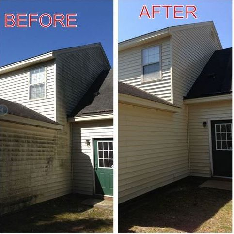 Pressure washing can make a huge difference