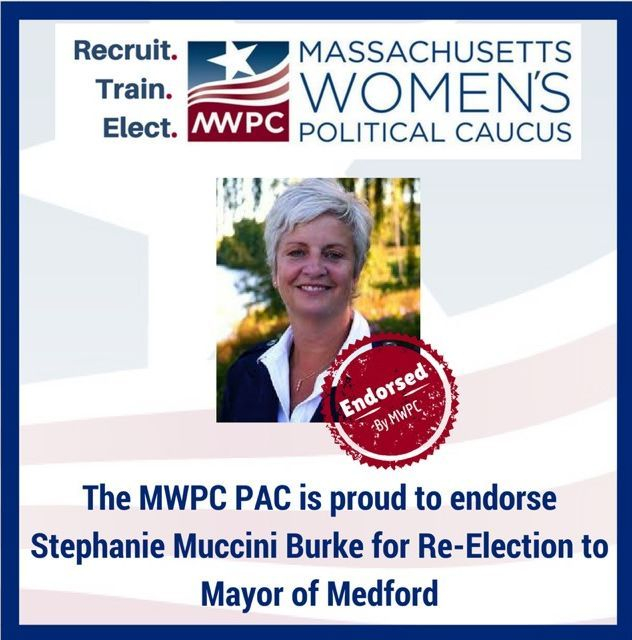 Massachusetts Women's Political Caucus endorses Stephanie Muccini Burke