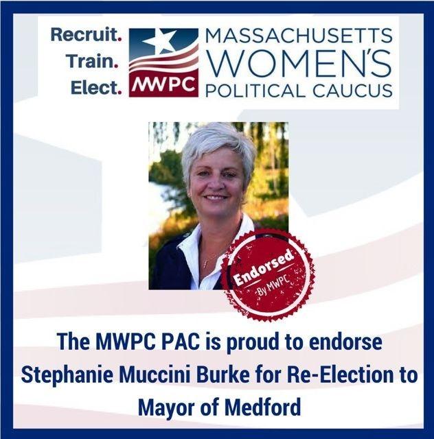 Massachusetts Women's Political Caucus endorses Stephanie Muccini Burke