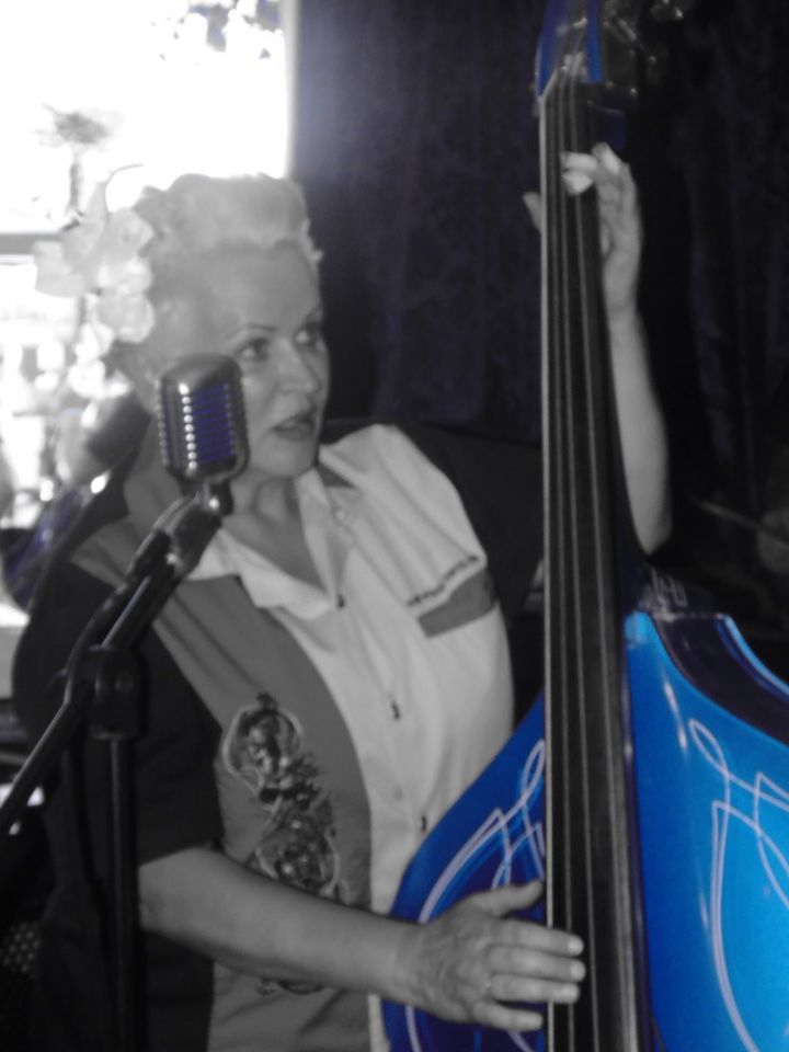 Rockabilly Slap Bass, Little Miss Blue Bass