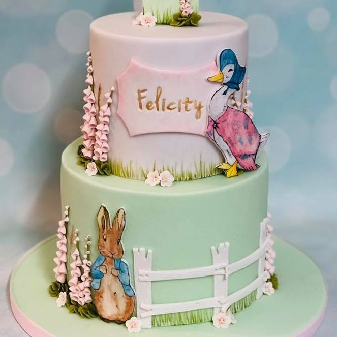Birthday Cake Peter Rabbit