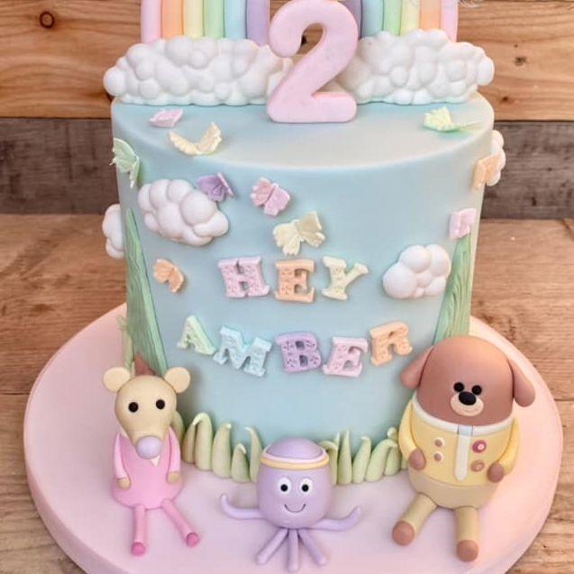 Hey Duggee Birthday Cake Pastel 2nd