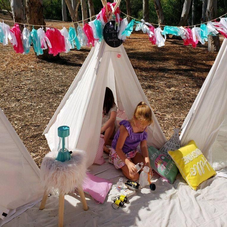 kids party rentals, party rentals, teepee rentals, teepee party, kids party planner, kids event planner, birthday parties, teepee parties, happy camper, happy glamper, Newport Beach, Orange County, CA