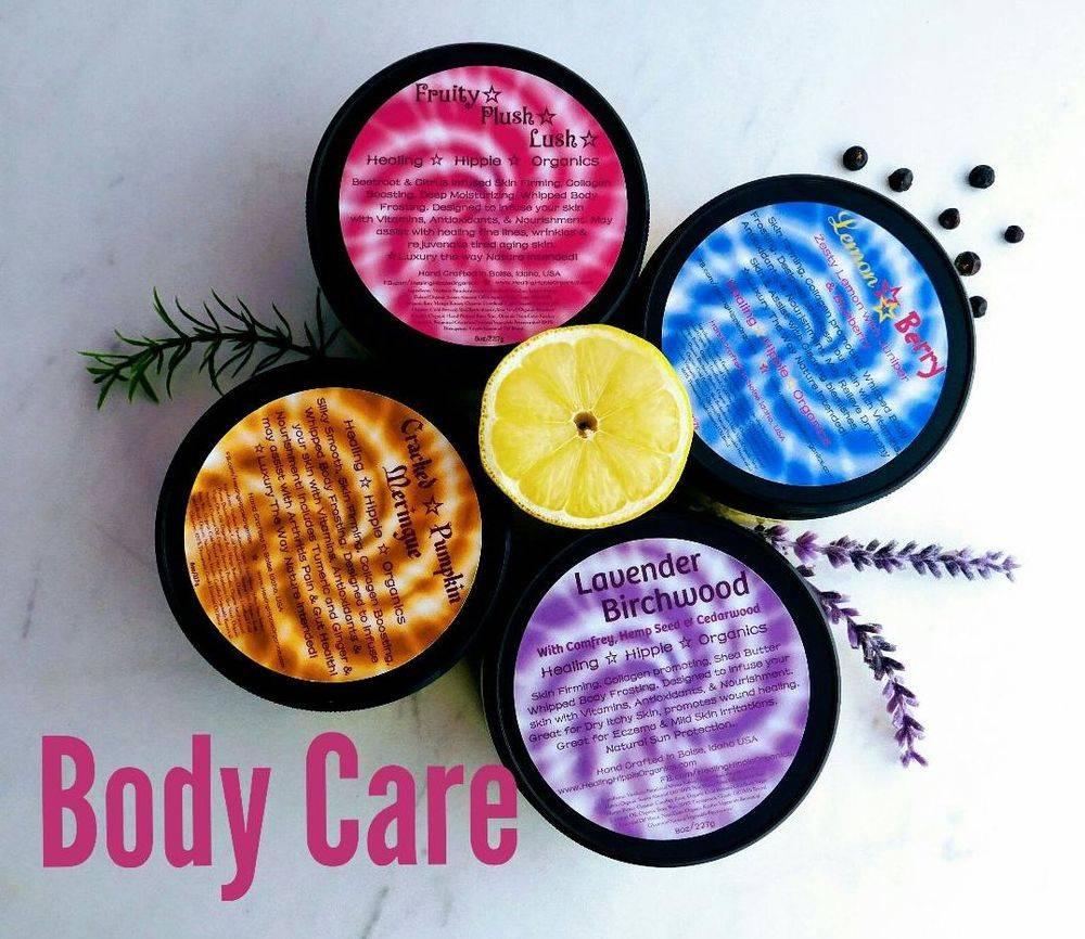 Body Care, Healing Hippie Organics, Boise, Idaho, USA