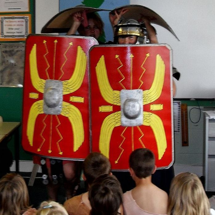 Roman workshop for schools