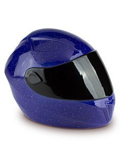 Ceramic Motorcycle Helmet Urn for ashes