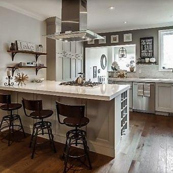 Sibra Kitchens Markham Toronto cambria quartz shaker cabinets