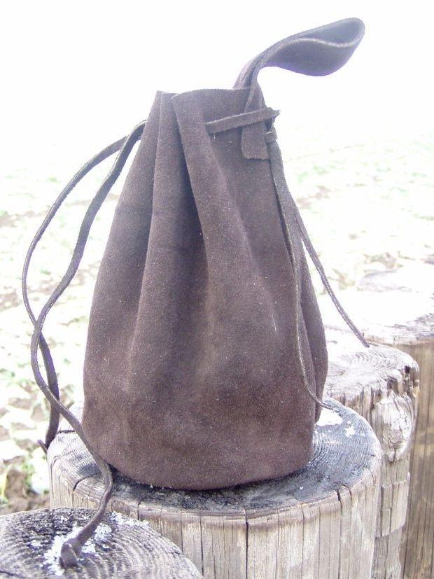 Larping, Leather Pouch, Viking Age, Celts, Celtic, Vikings, Coin Pouch, Shield Ravens