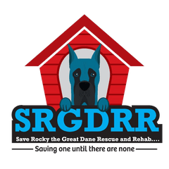 Save Rocky the Great Dane Rescue and Rehab Logo