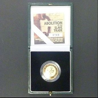 GOLD COINS/2007 £2 Gold Proof