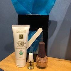 Holiday Manicure Gift Box, Eminence Hand Cream, exhalo spa