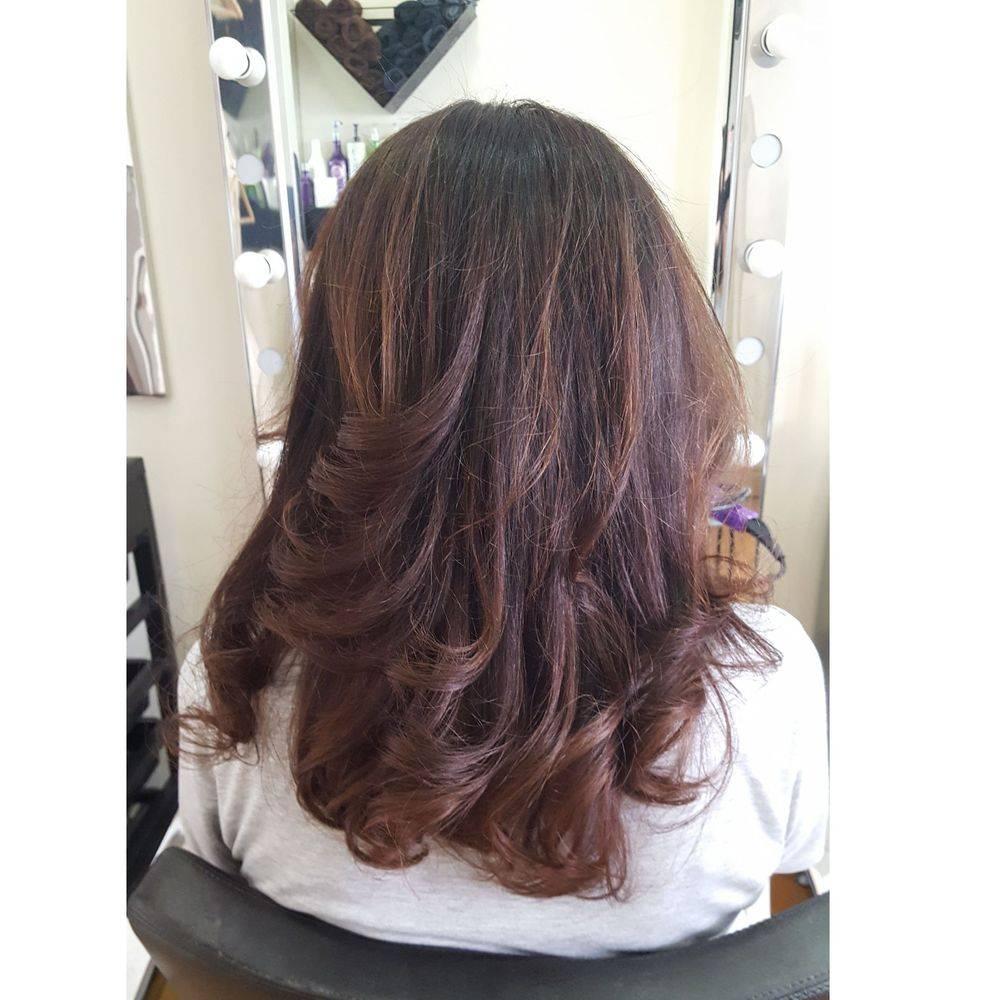 Curly Hair Blow Dry London Temple Holborn Strand Hairdressers hair salon
