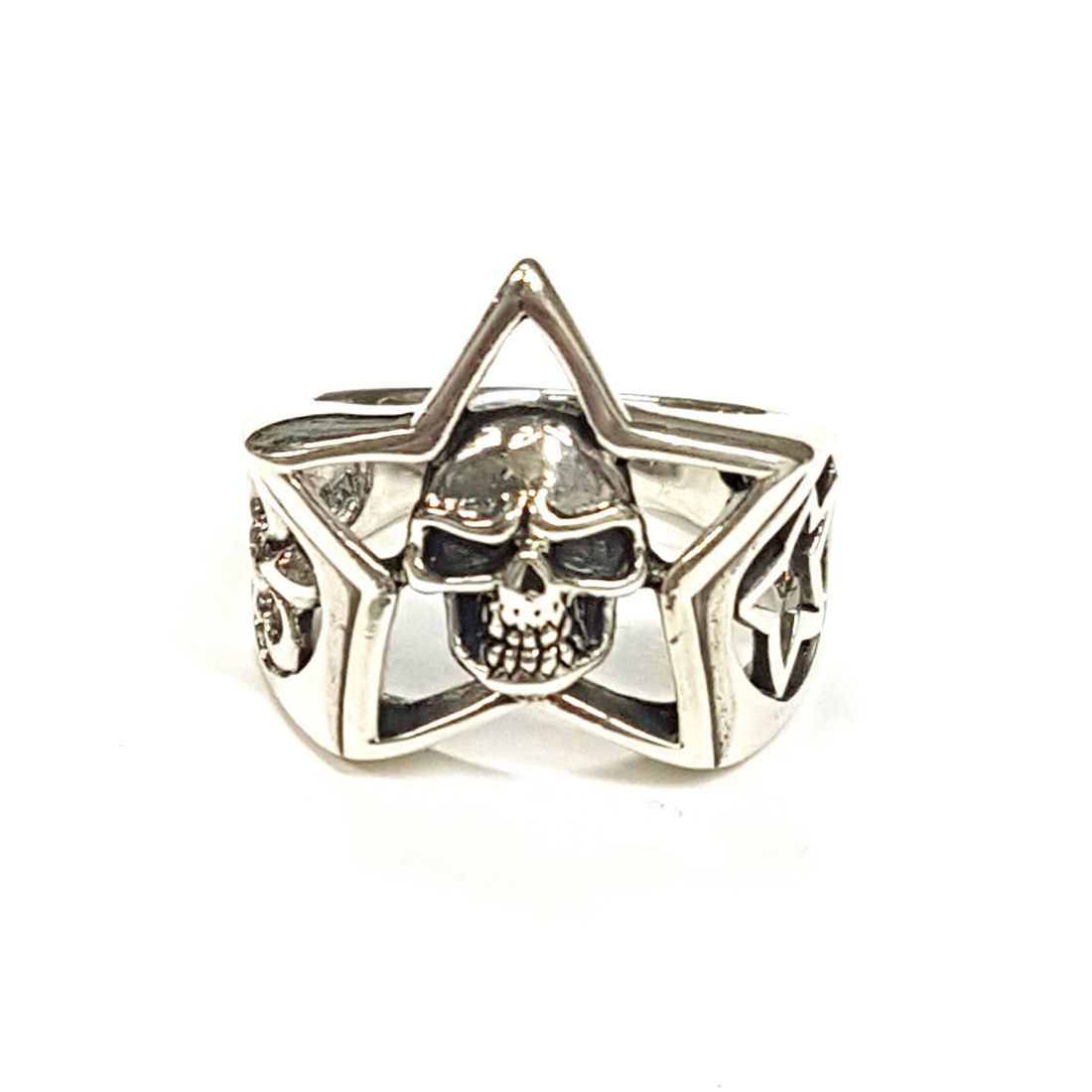 Star Skull Ring  available at Kazbah online and our Leicester City Centre shop
