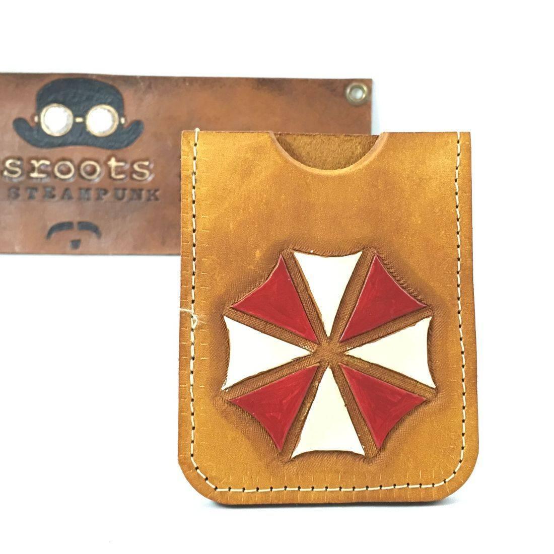 Single slot wallet Umbrella Corporation