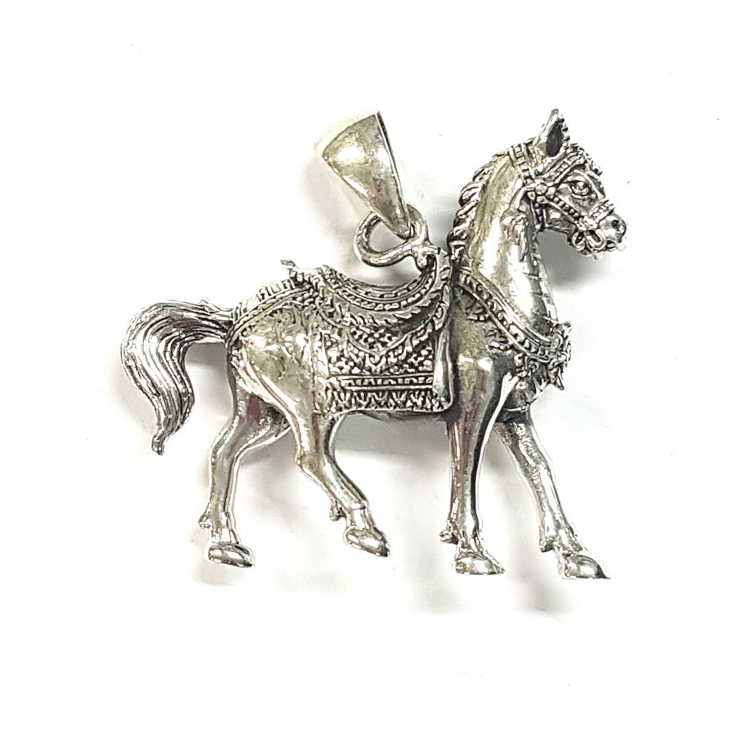 Silver Horse Pendant  available at Kazbah online and our Leicester City Centre shop