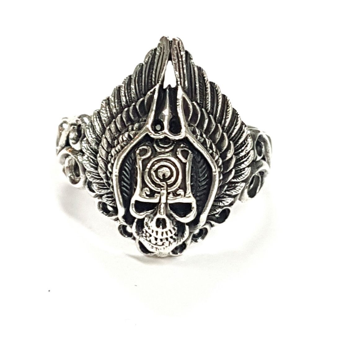 Red Indian Skull Ring  available at Kazbah online and our Leicester City Centre shop
