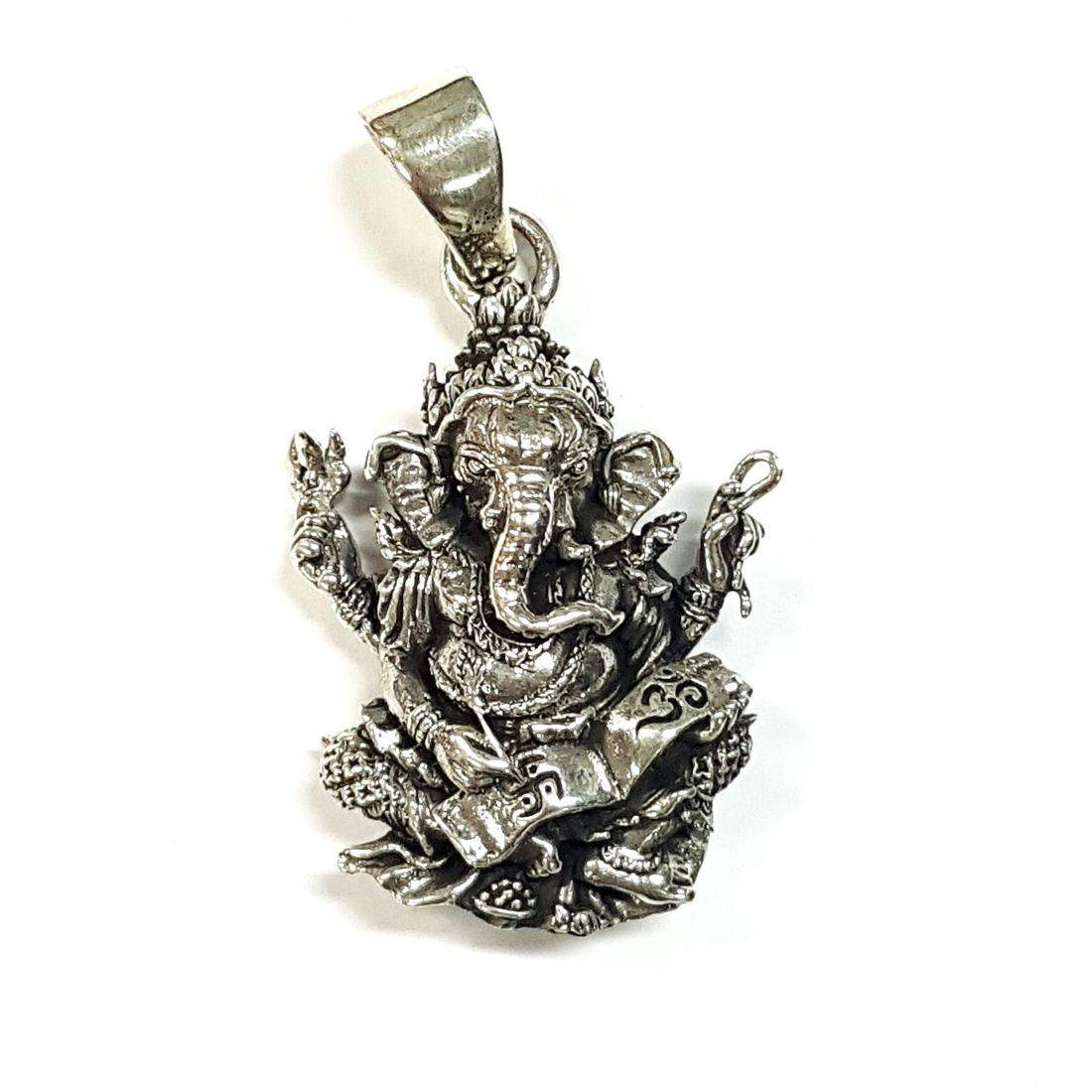 Small Ganesh Pendant  available at Kazbah online and our Leicester City Centre shop