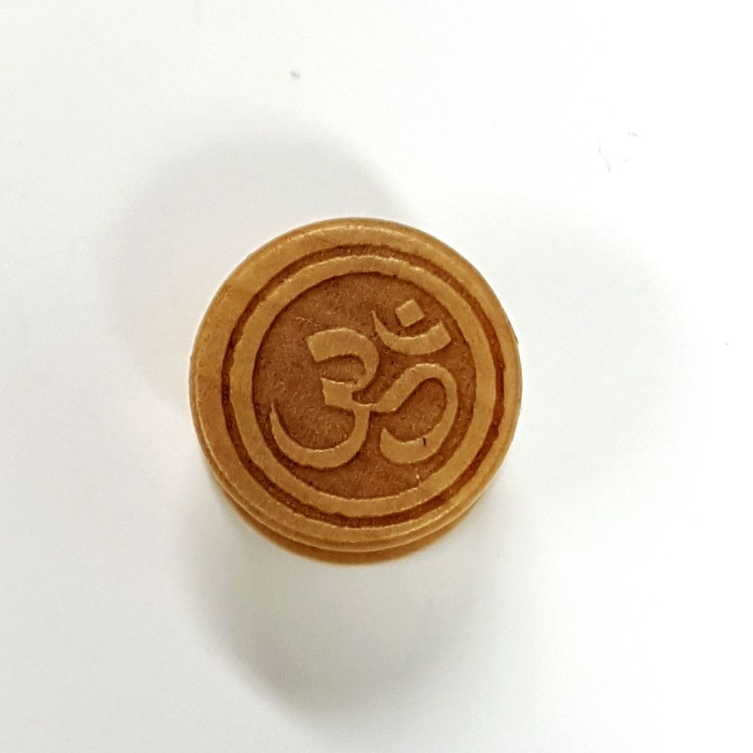 16mm Om Palm Wood Plug