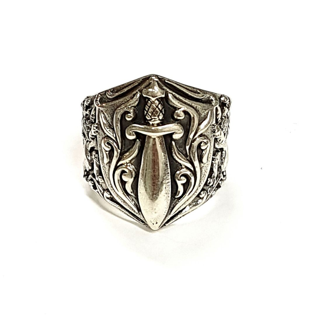Lions & Sword Ring available at Kazbah online and our Leicester City Centre Shop