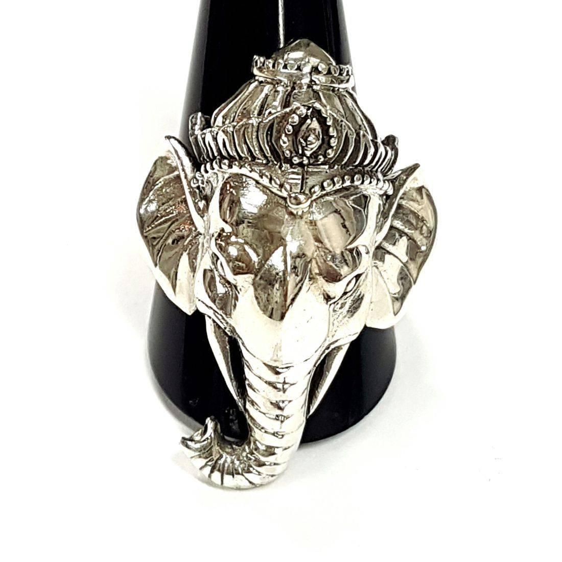Decorative Elephant Ring  available at Kazbah online and our Leicester City Centre shop