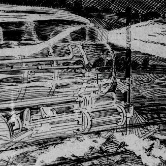 phantom locomotive ghost train