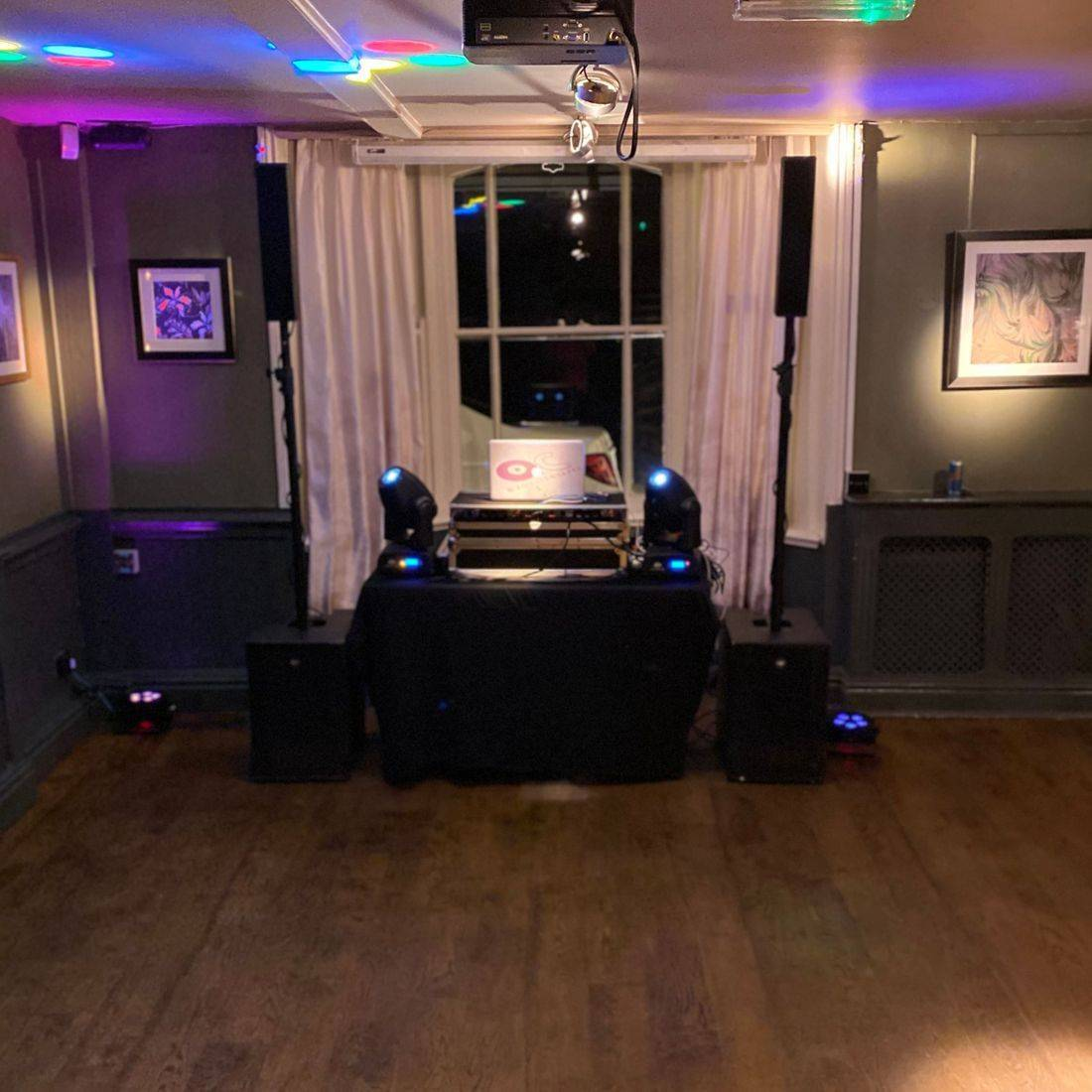 LED Dancefloor Worcestershire Stanbrook Abbey