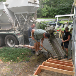 ready mix concrete delivery worcester county - eastern MA