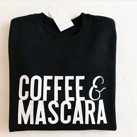 BBX Collection T-shirt ~ locally made, Coffee and Mascara, babes in bbx
