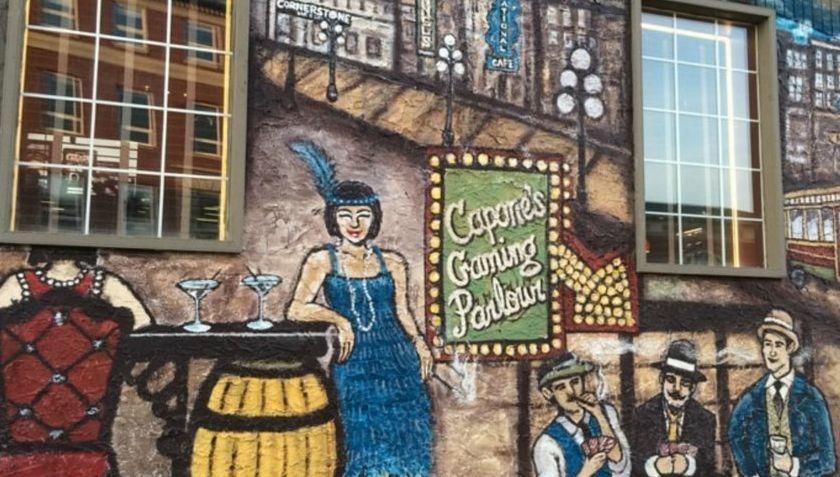 Capone  Murals