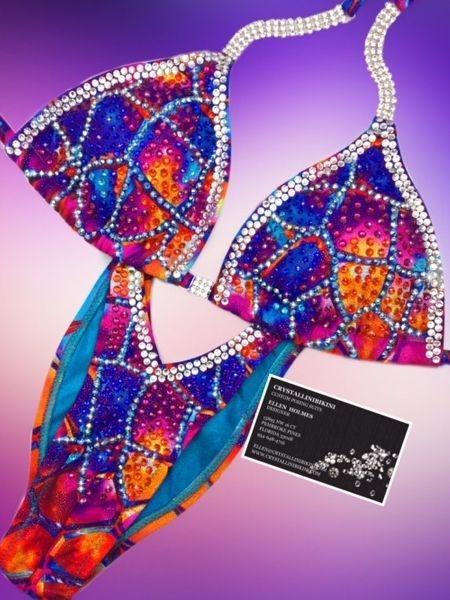 multicolor figure suit