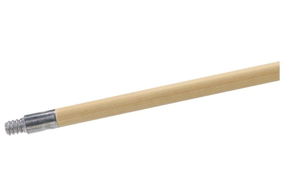 """Wood Handle Metal Tip 1 1/8"""" x 60"""""""