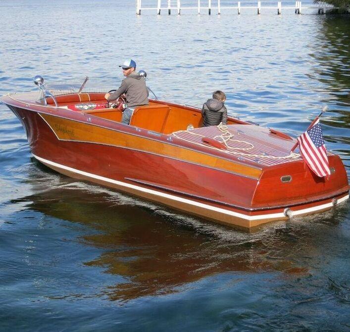 22 shepherd wood boat for sale