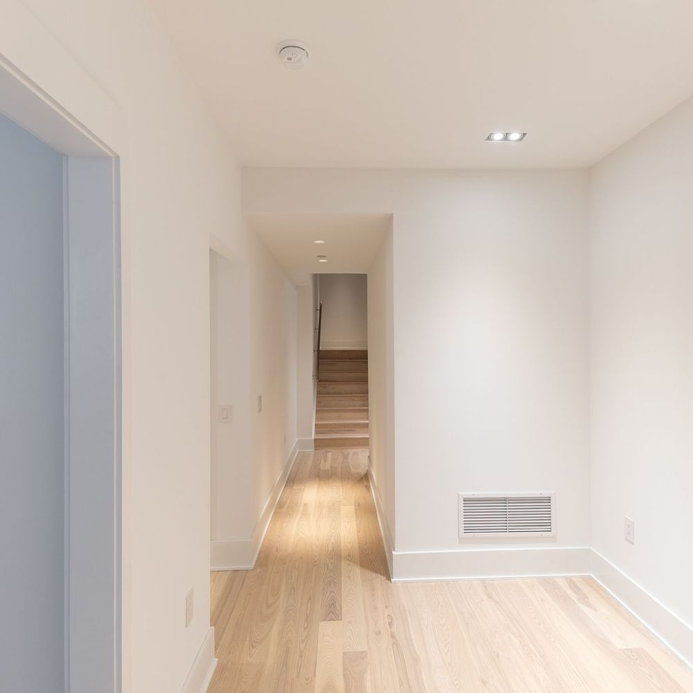Newly Constructed First Floor Row Home