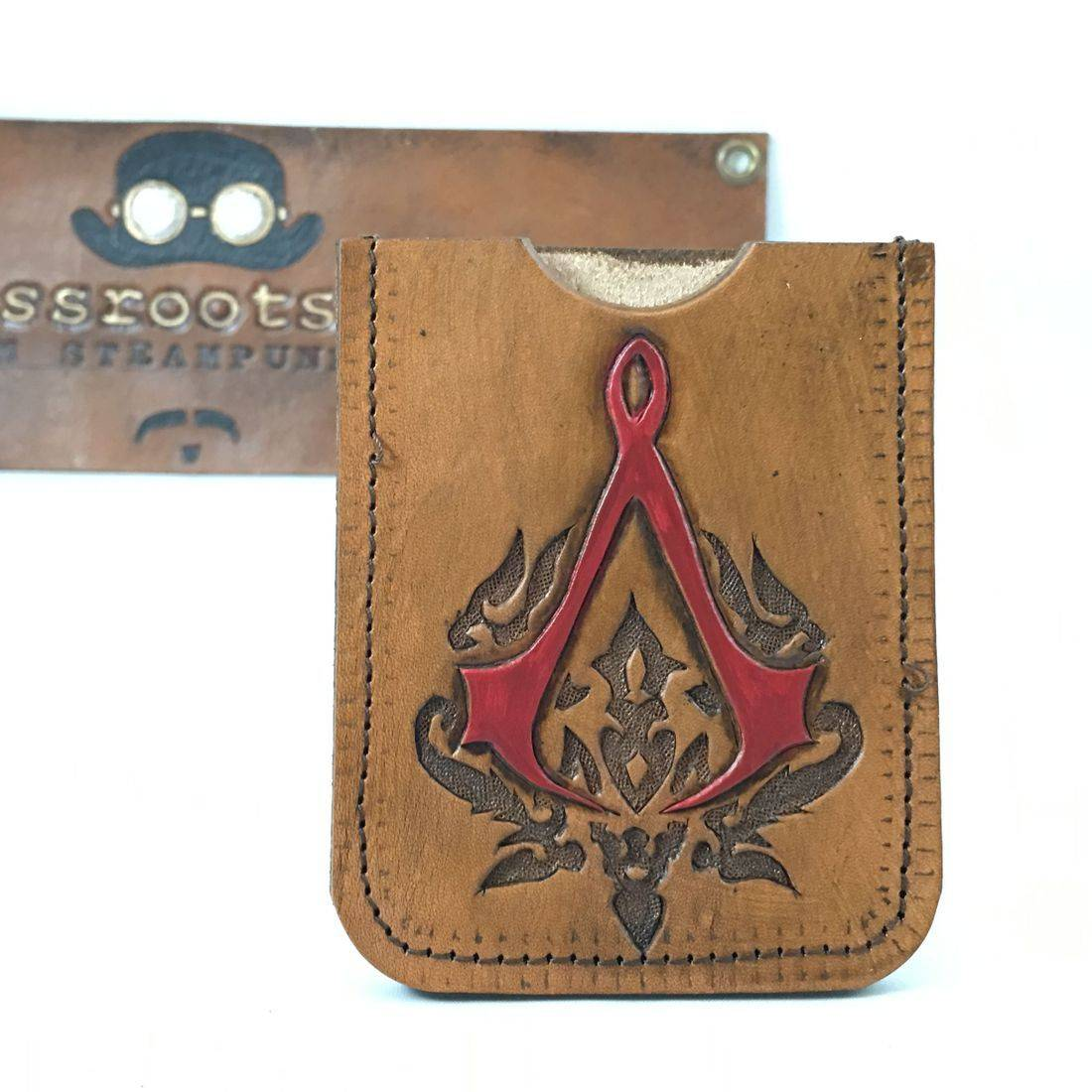 Single slot wallet Assassins Creed