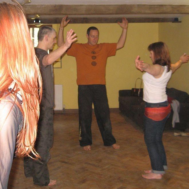 Earthmoves dance mixed men tuition energy joyful