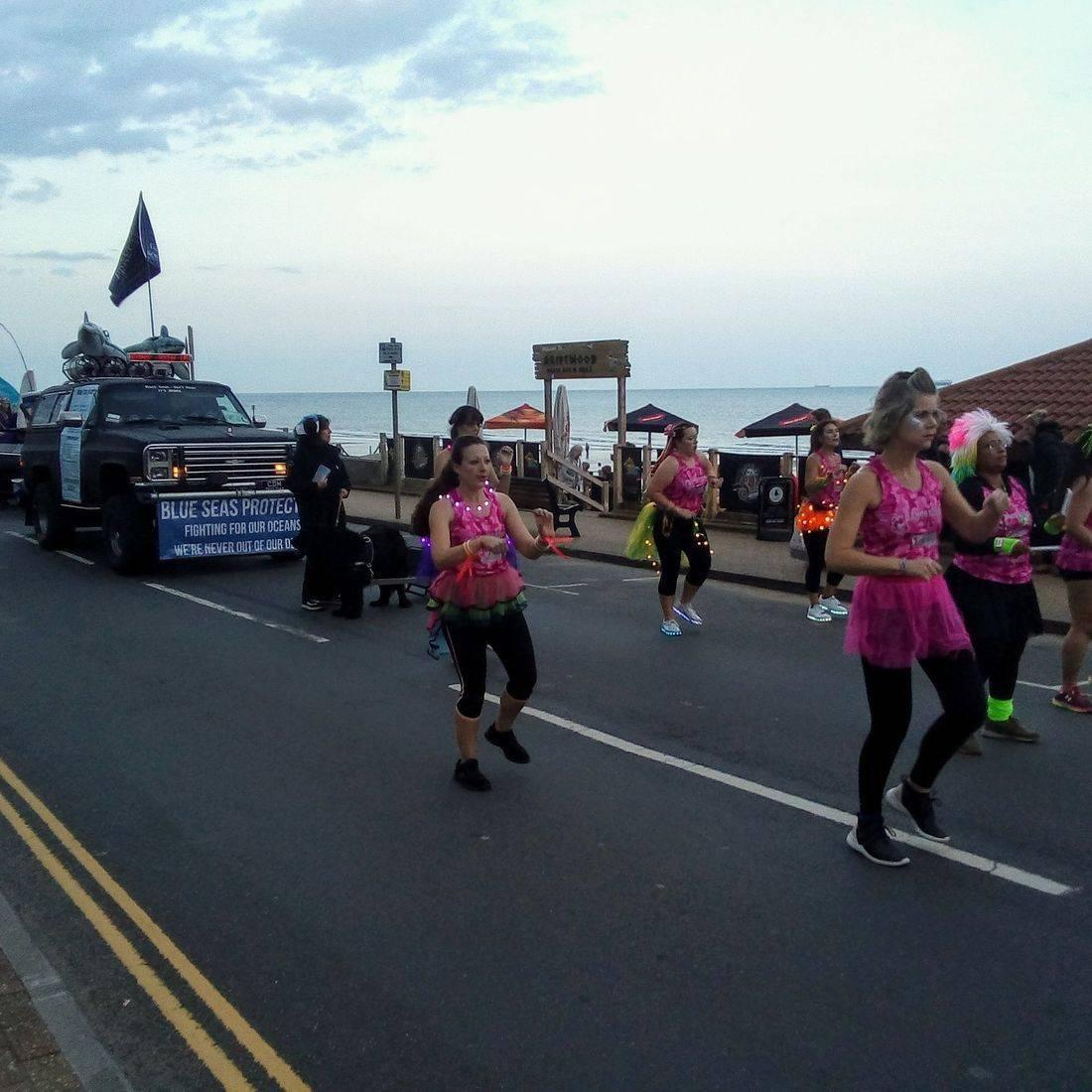 sea activistis  UK Isle of Wight