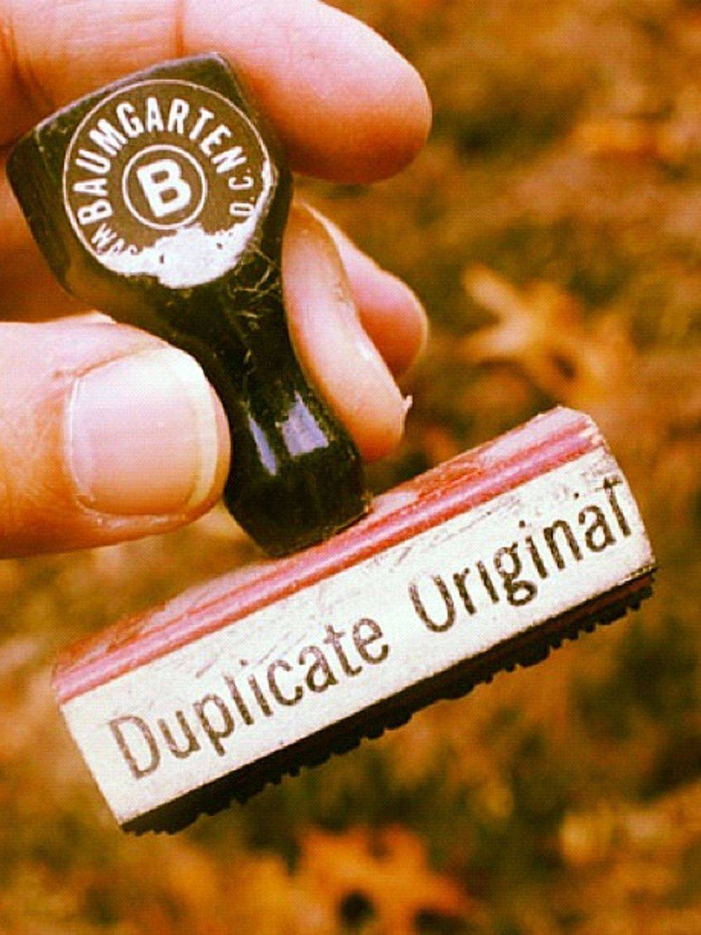 Notary Stamp (Duplicate)
