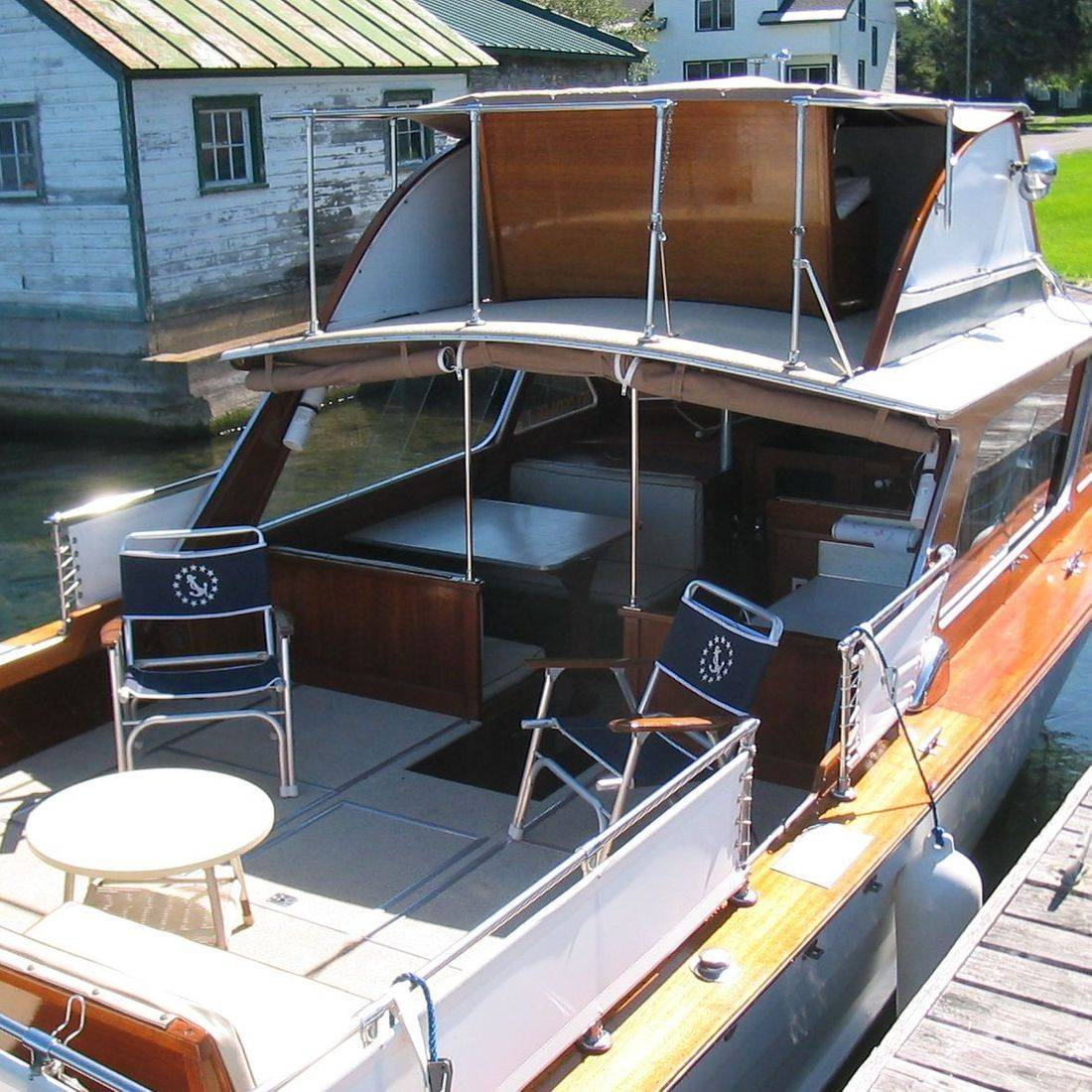 28 Lyman before restoration by Bergersen Boat